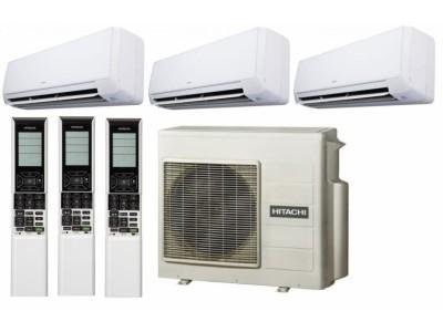 Мультисплит-система Hitachi RAM-53NP3B + RAK-25RXB*3 Akebono